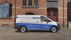 Mercedes-Benz zeigt Sprinter mit Elektroantrieb und Brennstoffzelle