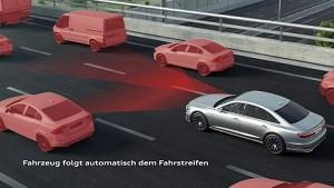 Wie funktiert der Audi-Staupilot (Herstellervideo)