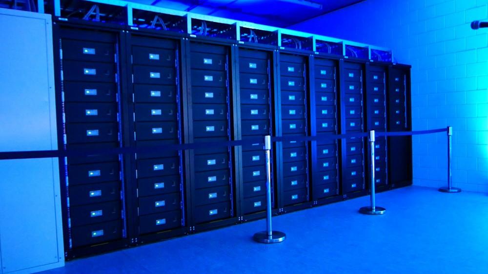 Energiespeicher in der Cruijff Arena - Bericht