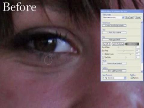 Virtuelle Gesichtschirurgie für schönere Fotos - Video