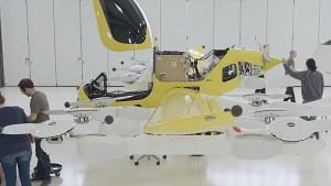 Flugtaxi Cora vorgestellt - Herstellervideo
