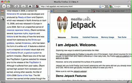 Jetpack-Slidebar - Vorstellung