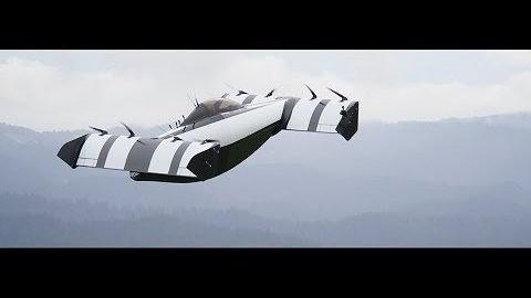 Lufttaxi Blackfly im Flug