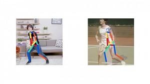 Move Mirror - KI sucht zu jeder Pose passende Bilder