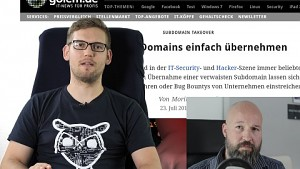 Subdomain Takeover - Interview mit Moritz Tremmel