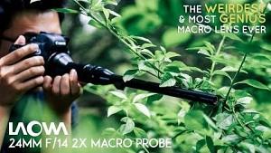 Makro-Objektiv Laowa 14mm f14 - Kickstarter-Trailer