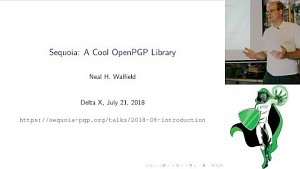 Sequoia A Cool OpenPGP Library