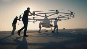 Volocopter X2 fliegt in Dubai