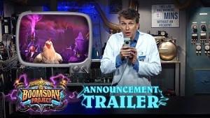 Blizzard kündigt das Boomsday Project für Hearthstone an