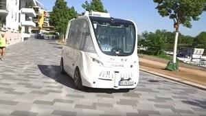 Mainz testet autonom fahrenden Bus