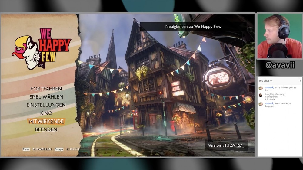 We Happy Few - Golem.de Live