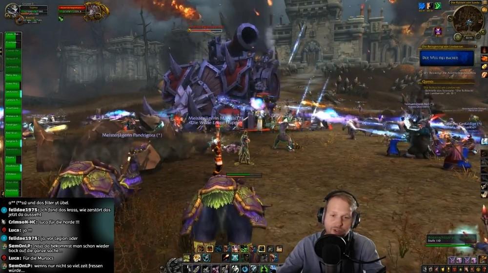 World of Warcraft Battle for Azeroth - Mitternachtsstream (Golem.de Live)