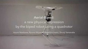 Roboter Aerial-Biped