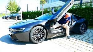 BMW i8 Roadster und Coupe - Testfahrt