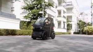 Ausziehbares Elektroauto iEV X