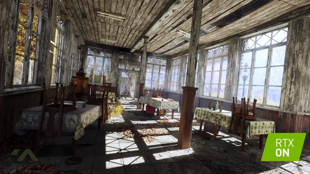 Metro Exodus - Raytracing Demo (Gamescom 2018)
