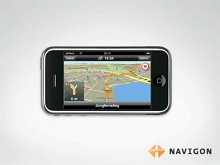 Navigon-Navigationssoftware für das iPhone - Video