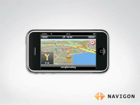 Navigon-Navigationssoftware für das iPhone - Video