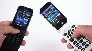 Nokia 8110 4G und Doro 7060 - Test
