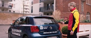 We Deliver - Kofferraumlieferung in VW-Autos - Trailer