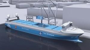 Norwegische Werft Vard baut die Yara Birkeland