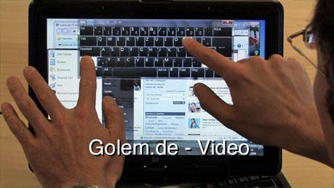 Windows 7 Touch Features - Präsentation