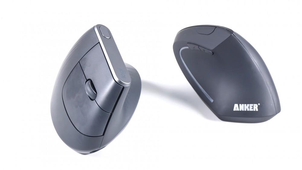 Logitechs MX Vertical und Ankers vertikale Maus im Vergleichstest