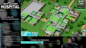 Two Point Hospital - Golem.de live