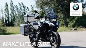 BMW-Motorrad fährt autonom