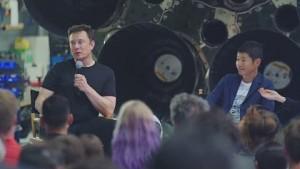SpaceX schickt ersten Passagier auf den Mond