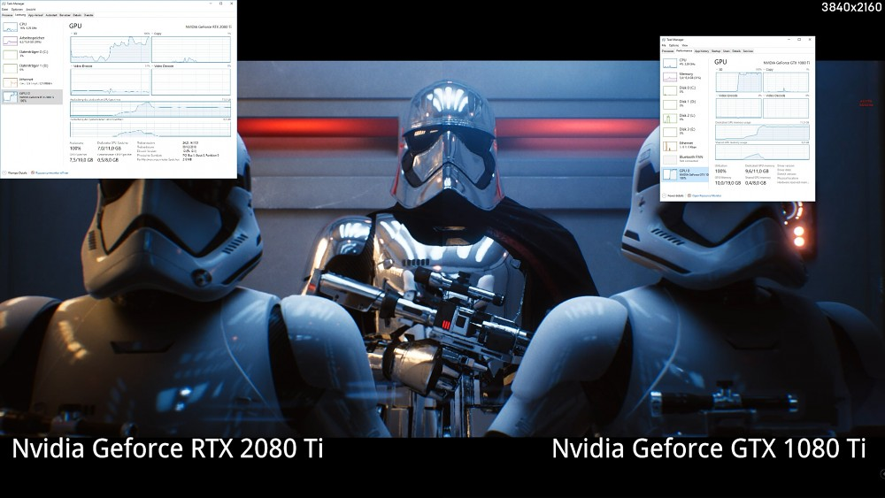 Reflections Raytracing Demo (RTX 2080 Ti vs. GTX 1080 Ti)