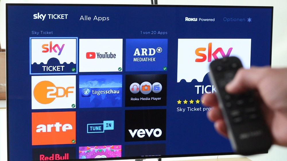 Sky Ticket TV Stick im Test