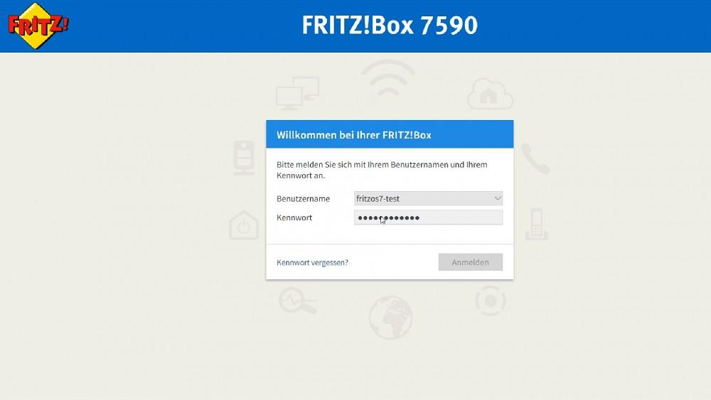 FritzOS 7 - Test
