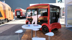 i-Cristal autonomer Bus - Interview (englisch)