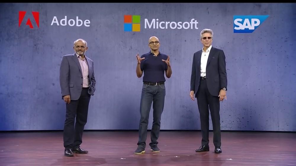 Open Data - Initiative von Microsoft, Adobe und SAP (Ignite 2018)