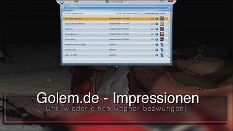 Street Fighter 4 (PC) im Onlinemodus über Games for Windows Live - Impressionen