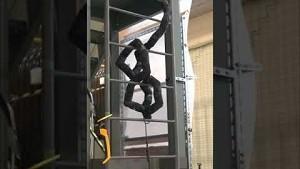 Schlangenroboter auf einer Leiter - University of Kyoto