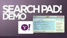 Search Pad Demo - Video