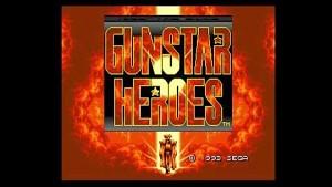 Gunstar Heroes auf dem Mega Sg - Herstellervideo