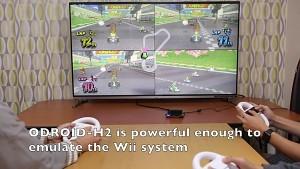 Der Odroid H2 emuliert Mario Kart Wii