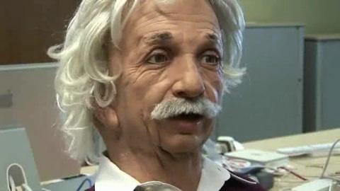 Der Einstein-Roboter