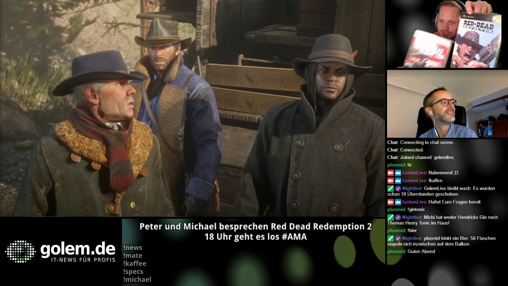 Red Dead Redemption 2 - Golem.de live
