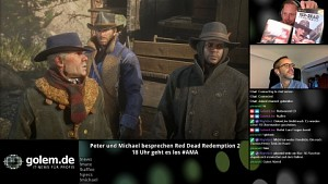 Red Dead Redemption 2 - Golem.de live