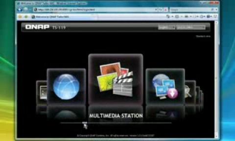 Neue Firmware 3.1 für NAS von Qnap mit grafischem Interface - Video