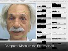 Der Einstein-Roboter lernt Mimik