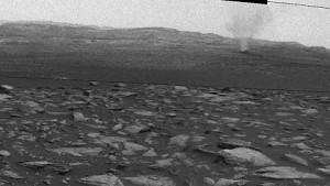 Mars-Aufnahmen des Curiosity-Rovers (Staubstürme) - Nasa
