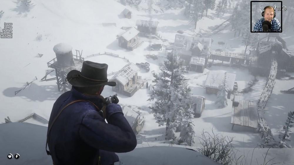 Red Dead Redemption 2 auf der Xbox One X - Golem.de live