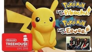 Pokemon Let's Go Pikachu und Evoli - Gameplay (Nintendo Treehouse)