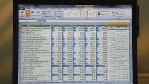 Microsoft-Präsentation von Office 2010 - Excel