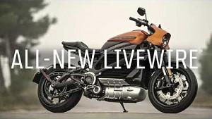 2020 LiveWire Harley-Davidson (Trailer)